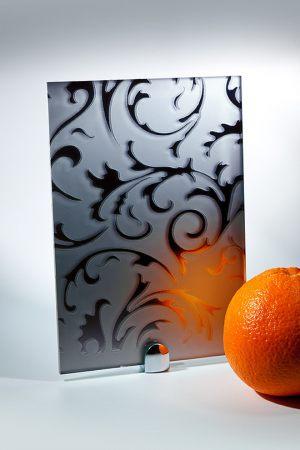 """Зеркало """"Барокко"""" матовое графит Актобе"""
