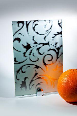 "Зеркало ""Барокко"" матовое серебро Актобе"