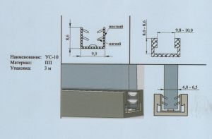 Уплотнитель 4-6,5 мм Актобе