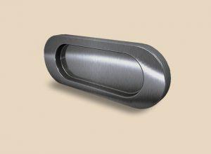Ручка серебро глянец овальная Италия Актобе