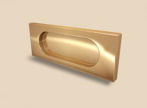 Ручка Золото глянец прямоугольная Италия Актобе