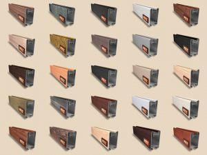 """Алюминиевый ламинированный профиль """"HOLZ"""" для шкафов купе и межкомнатных перегородок Более 100 цветов Актобе"""