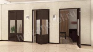 Двери гармошка Актобе