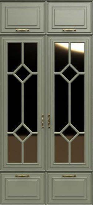 Фасад с фигурной филенкой эмаль Актобе