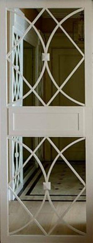 Вставка с фигурной филенкой на зеркале эмаль Актобе