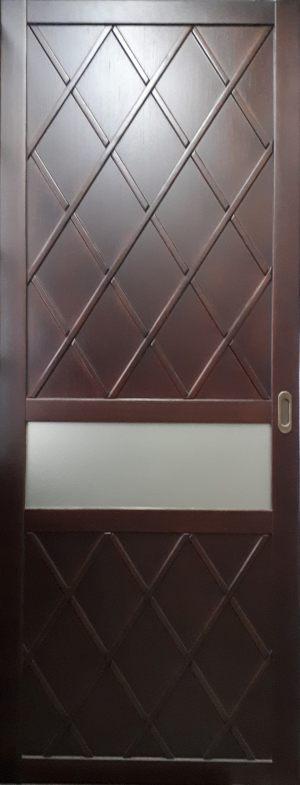 Вставка в дверь с фигурной филенкой Актобе