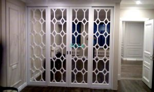 Двери с фигурной филенкой, эмаль Актобе